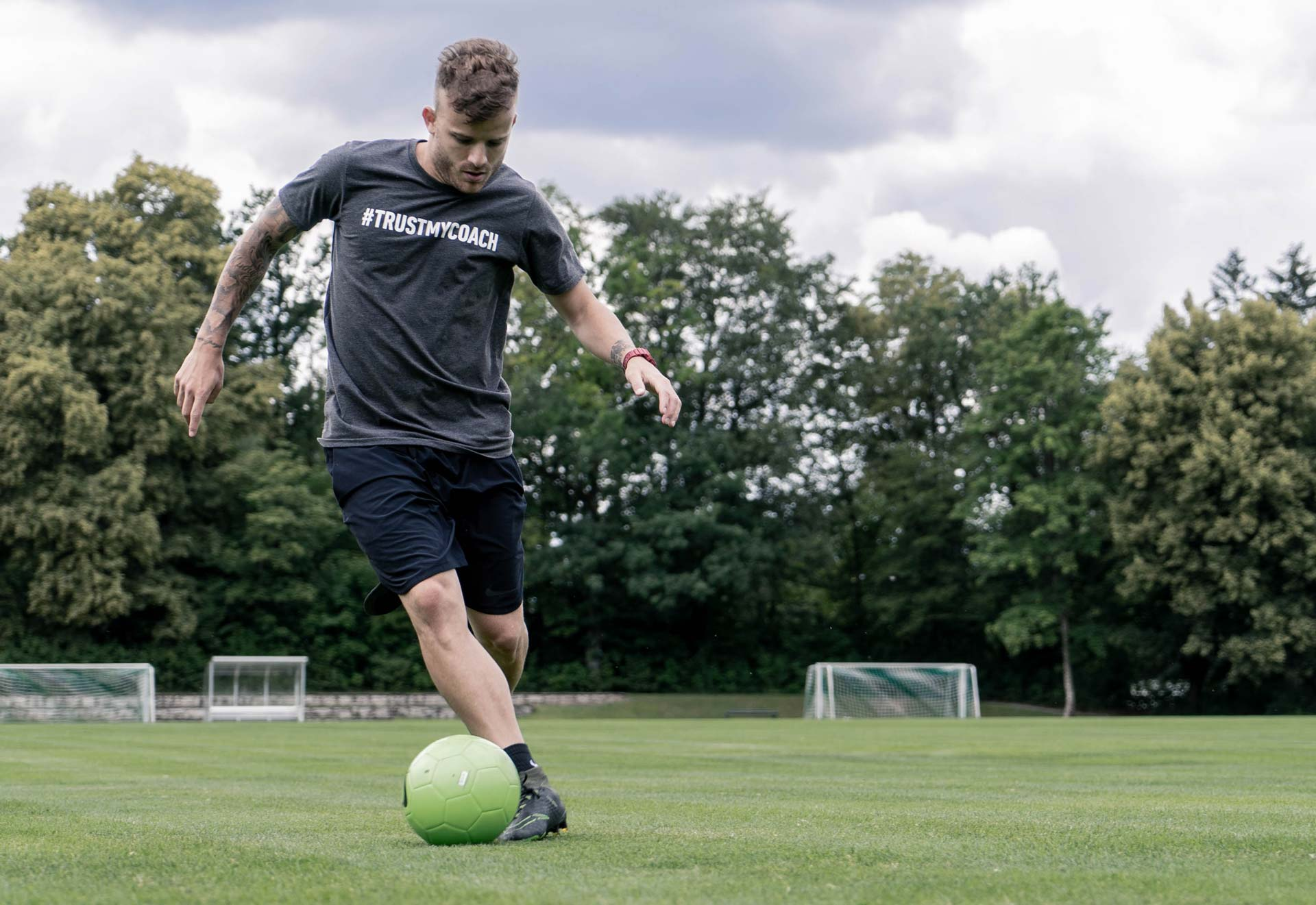 coordination soccer training control the ball your body and the