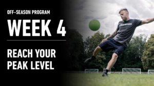 Week 4 – Reach your peak performance
